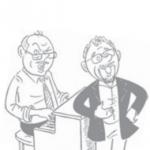 Humor og klaver